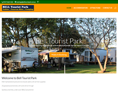 Bell Tourist Park Cabin Accommodation and Caravan Sites