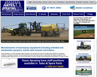 Hayes Spraying Boom Spray Equipment